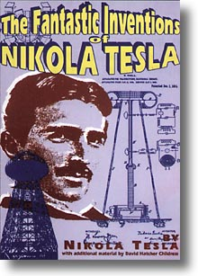 The Fantastic Inventions of Nikola Tesla, book cover